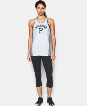 Women's Pittsburgh Pirates UA Tech™ Tank LIMITED TIME: FREE SHIPPING 1 Color $36.99