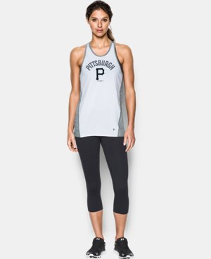 Women's Pittsburgh Pirates UA Tech™ Tank LIMITED TIME: FREE U.S. SHIPPING 1 Color $36.99