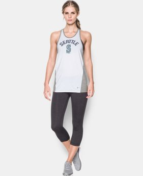 Women's Seattle Mariners UA Tech™ Tank LIMITED TIME: FREE U.S. SHIPPING 1 Color $27.99