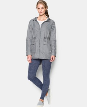 Women's Twill Rain Jacket
