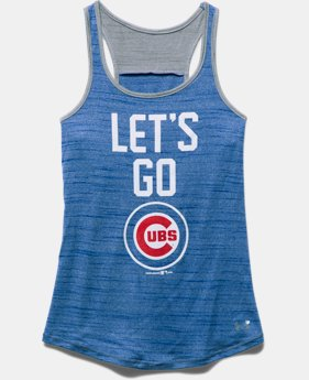 Girls' Chicago Cubs UA Tech™ Tank
