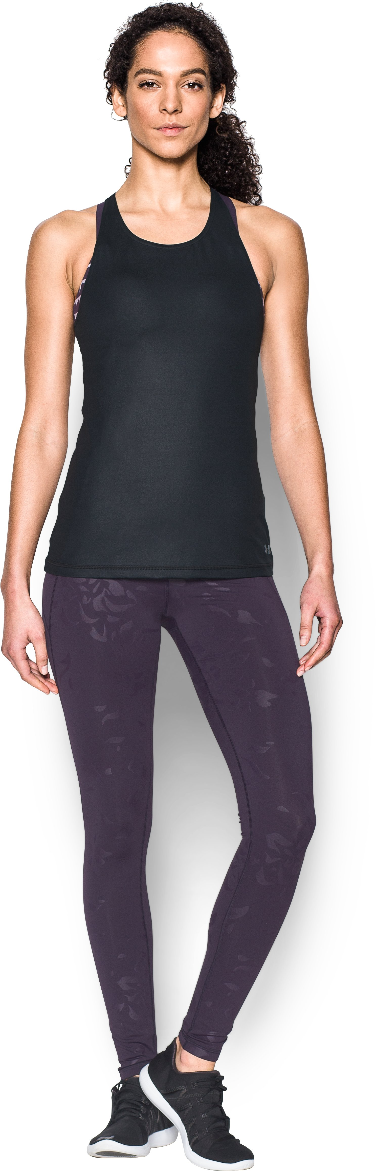 Women's UA Mirror Shine Tank, Black