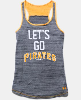 Girls' Pittsburgh Pirates UA Tech™ Tank