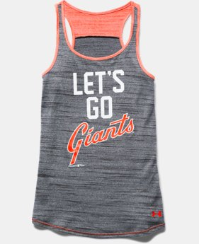 Girls' San Francisco Giants UA Tech™ Tank