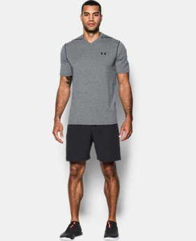 Men's UA Threadborne Striped V-Neck T-Shirt  1 Color $20.99 to $22.99