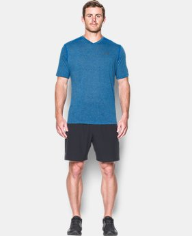 Men's UA Threadborne V-Neck T-Shirt  1 Color $39.99