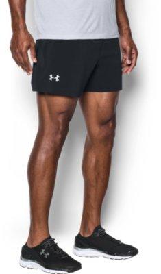 Black Under Armour Speedpocket Ultra Mens Running Shorts
