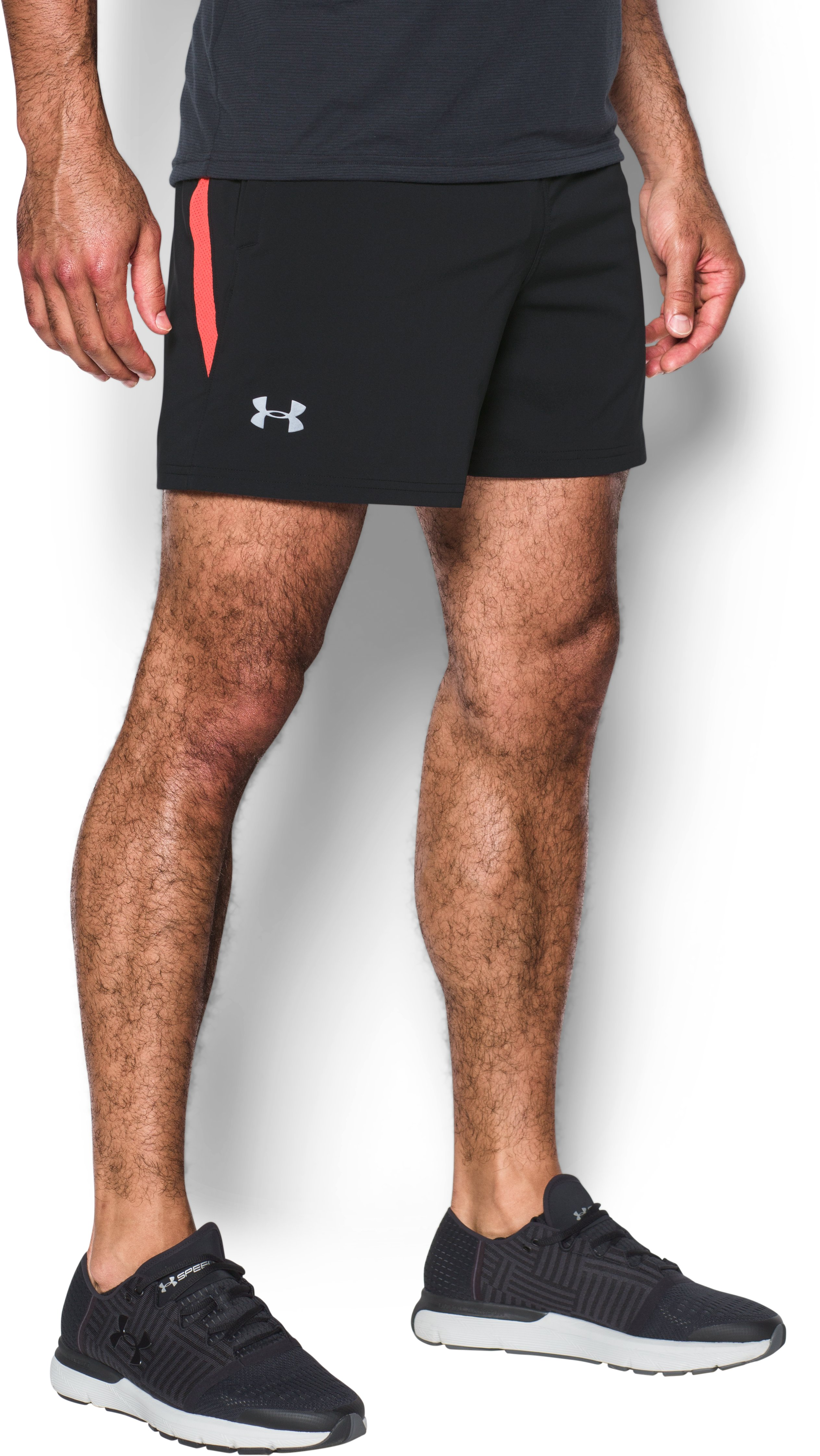 "Men's UA Speedpocket 5"" Shorts, Black"