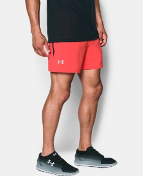 "Men's UA Speedpocket 5"" Shorts  1 Color $49.99"