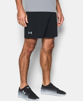 "Men's UA Speedpocket 7"" Shorts  1 Color $44.99"