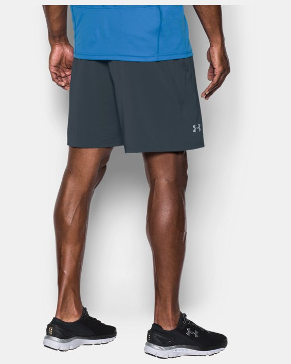 "Men's UA Speedpocket 7"" Shorts, Gray, pdpMainDesktop image number 1"