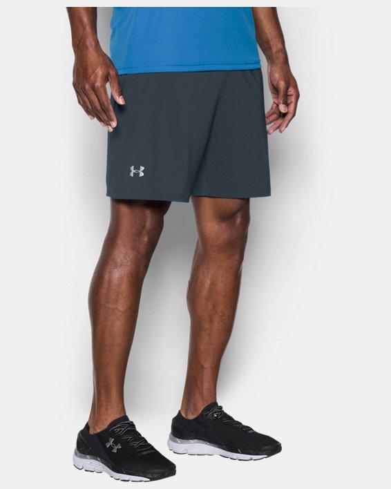 "Men's UA Speedpocket 7"" Shorts, Gray, pdpMainDesktop image number 0"