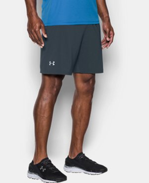 "Men's UA Speedpocket Run 7"" Shorts  1 Color $44.99"