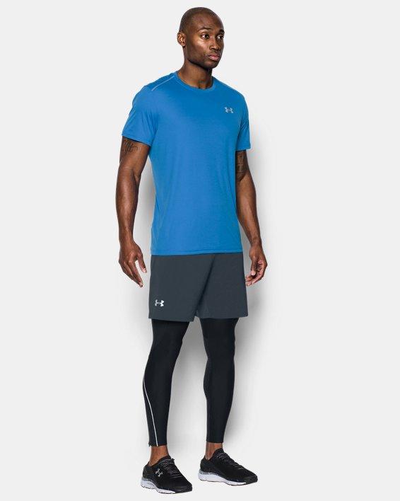 "Men's UA Speedpocket 7"" Shorts, Gray, pdpMainDesktop image number 3"