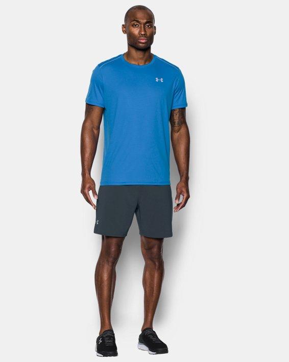 "Men's UA Speedpocket 7"" Shorts, Gray, pdpMainDesktop image number 2"
