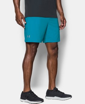 "Men's UA Speedpocket 7"" Shorts  4 Colors $26.99 to $31.99"