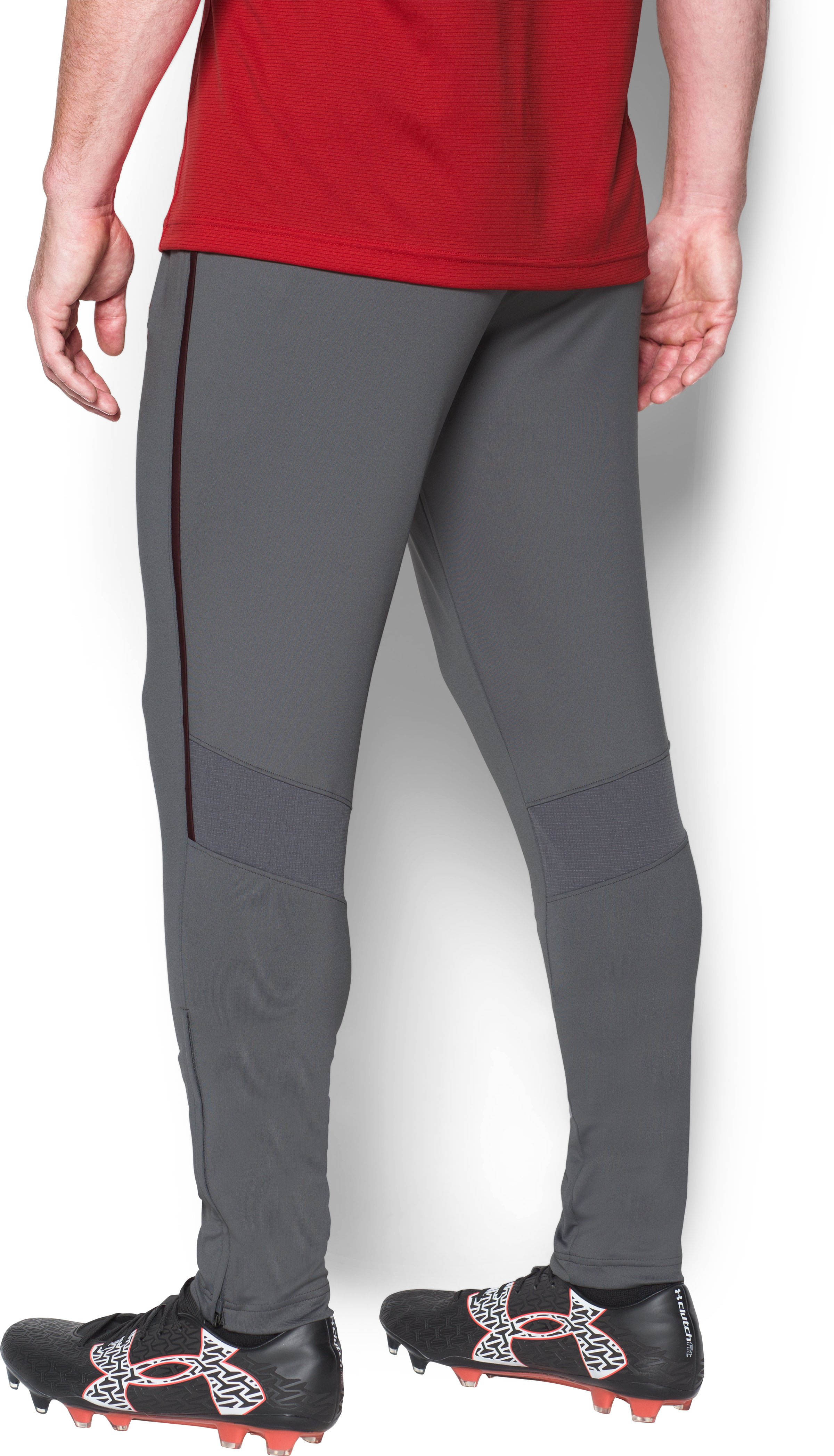 Men's Southampton Training Pants w/zip, Graphite, undefined