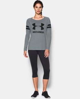 Women's UA Stripe Sportstyle Long Sleeve  1 Color $24.99 to $25.49