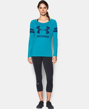 Women's UA Stripe Sportstyle Long Sleeve LIMITED TIME: FREE U.S. SHIPPING 1 Color $44.99