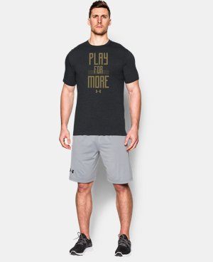 Men's UA Play for More T-Shirt LIMITED TIME: FREE SHIPPING 1 Color $34.99