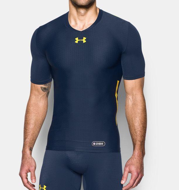 Men 39 S Nfl Combine Authentic Ua Clutchfit Short Sleeve