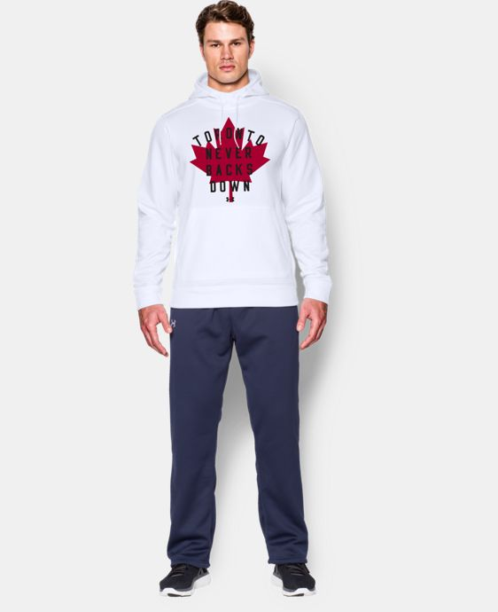 Men's UA Toronto Never Backs Down Hoodie LIMITED TIME: FREE SHIPPING 1 Color $48.99