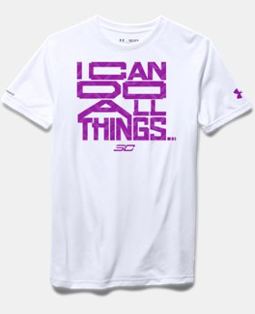 Girls' SC30 I Can Do All Things T-Shirt