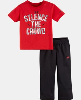 Boys' Infant UA Silence The Crowd Set LIMITED TIME: FREE U.S. SHIPPING  $26.99