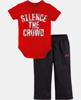 Boys' Newborn UA Silence The Crowd Set LIMITED TIME: FREE U.S. SHIPPING 1 Color $26.99