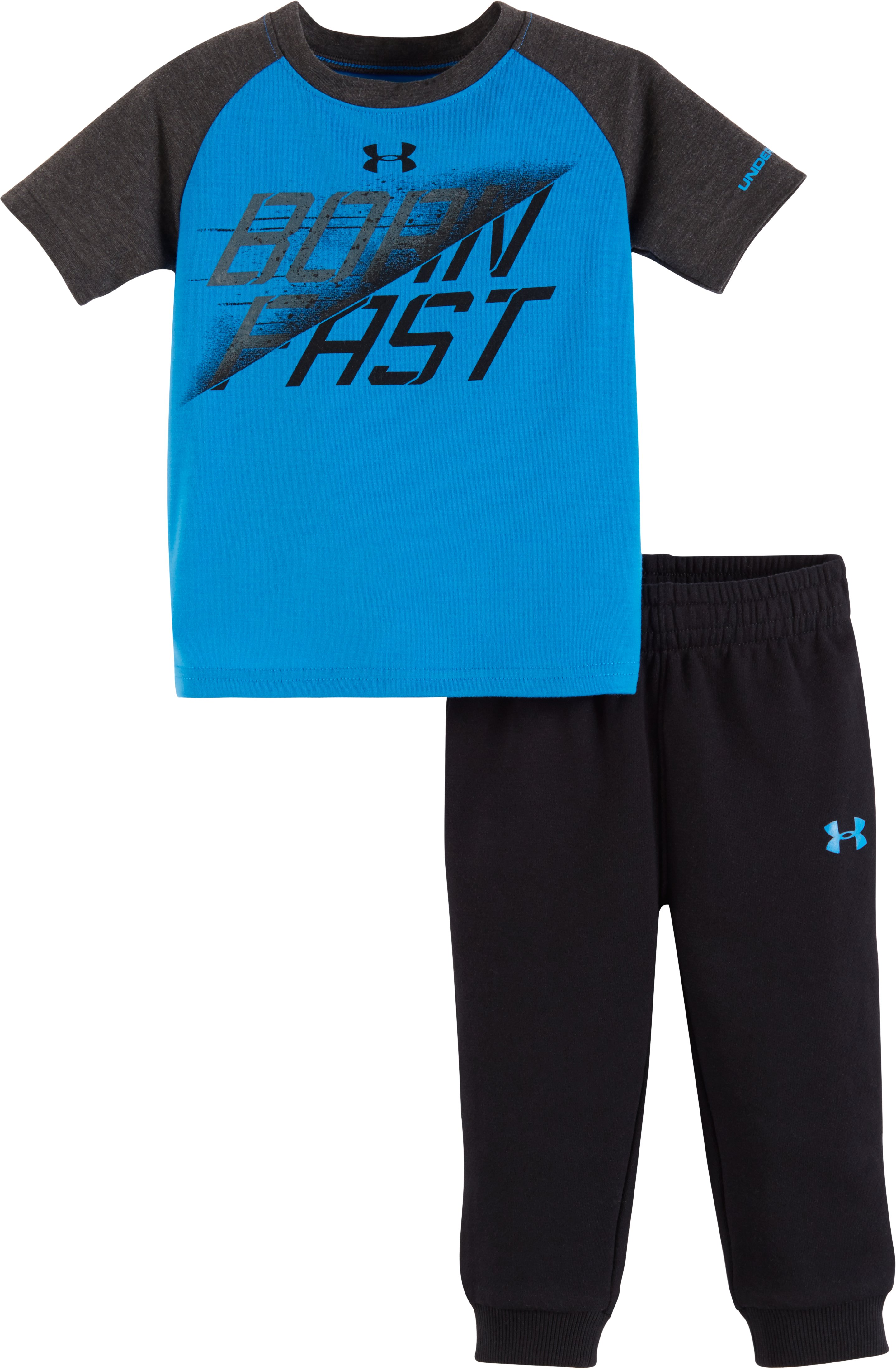 Boys' Infant UA Born Fast Set, BRILLIANT BLUE, zoomed image
