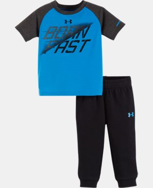 New Arrival Boys' Infant UA Born Fast Set   $34.99