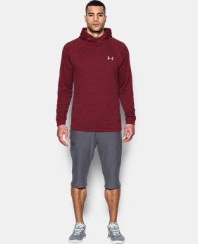 Men's UA Tech™ Terry Fitted Hoodie  1 Color $54.99