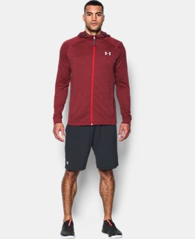 Men's UA Tech™ Terry Fitted Full Zip Hoodie  1 Color $52.49