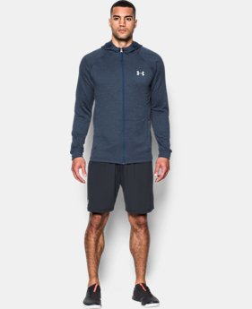 Men's UA Tech™ Terry Fitted Full Zip Hoodie  1 Color $44.99 to $59.99