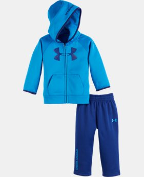 New Arrival Boys' Infant UA Big Logo Armour® Fleece Set   $42.99