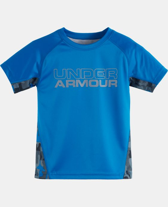 Boys' Toddler UA Atlas Camo Back Short Sleeve T-Shirt LIMITED TIME: FREE U.S. SHIPPING 1 Color $18.99