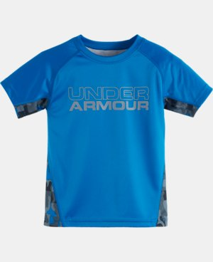New Arrival Boys' Toddler UA Atlas Camo Back Short Sleeve T-Shirt  1 Color $24.99