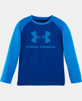 New Arrival Boys' Pre-School UA Branded Raglan Long Sleeve T-Shirt LIMITED TIME: FREE SHIPPING 1 Color $22.99