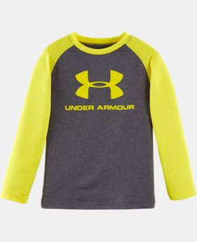 New Arrival Boys' Infant UA Core Raglan Long Sleeve LIMITED TIME: FREE U.S. SHIPPING  $20.99