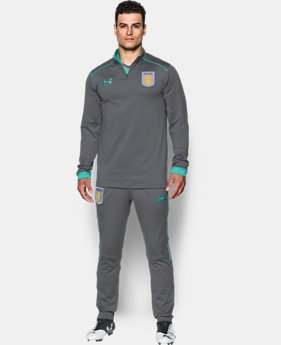 Men's Aston Villa ¼ Zip Top   $85