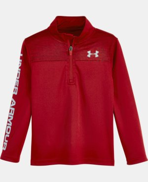 Boys' Toddler UA Twist 1/4 Zip  1 Color $34.99