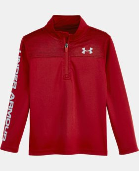 Boys' Pre-School UA Tech™ Twist 1/4 Zip LIMITED TIME: FREE U.S. SHIPPING 1 Color $34.99
