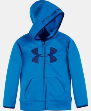 New Arrival Boys' Toddler UA Armour® Fleece Highlight Hoodie   $39.99