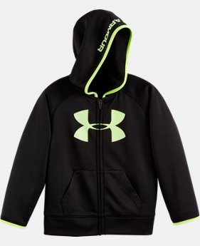 Boys' Pre-School UA Armour® Fleece Highlight Hoodie LIMITED TIME: FREE U.S. SHIPPING  $39.99