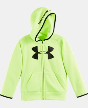Boys' Pre-School UA Armour® Fleece Highlight Hoodie LIMITED TIME: FREE U.S. SHIPPING 1 Color $29.99