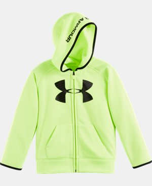 Boys' Pre-School UA Armour® Fleece Highlight Hoodie LIMITED TIME: FREE U.S. SHIPPING  $29.99