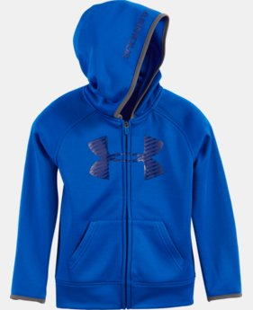 Boys' Pre-School UA Armour® Fleece Highlight Hoodie LIMITED TIME: FREE U.S. SHIPPING 3 Colors $39.99