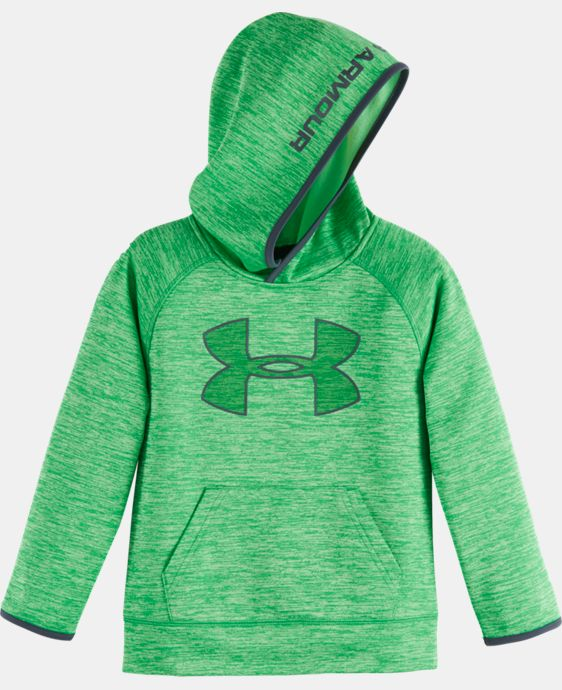 Boys' Toddler UA Armour® Fleece Twist Highlight Hoodie LIMITED TIME OFFER + FREE U.S. SHIPPING  $32.24