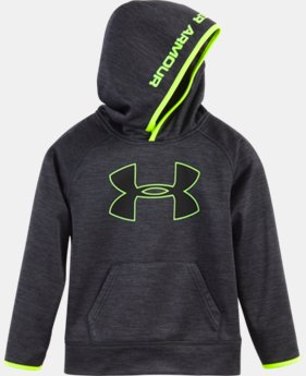 Boys' Pre-School UA Armour® Fleece Twist Highlight Hoodie LIMITED TIME OFFER + FREE U.S. SHIPPING 1 Color $42.99