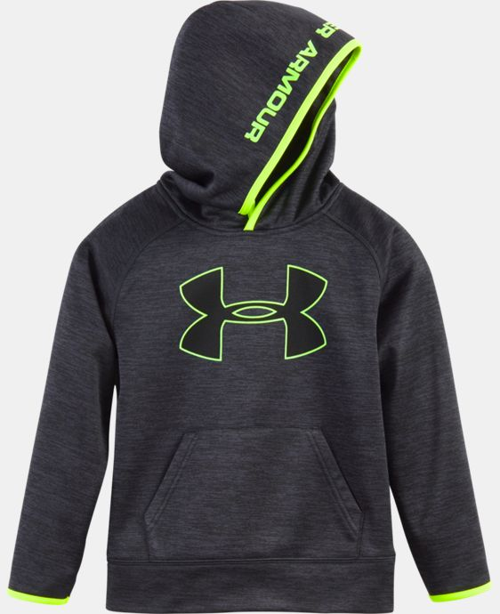 Boys' Pre-School UA Armour® Fleece Twist Highlight Hoodie LIMITED TIME OFFER + FREE U.S. SHIPPING 1 Color $32.24